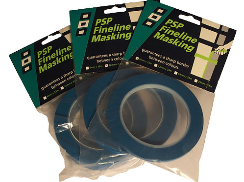 PSP Fineline Masking Tape 6mm x 33mm