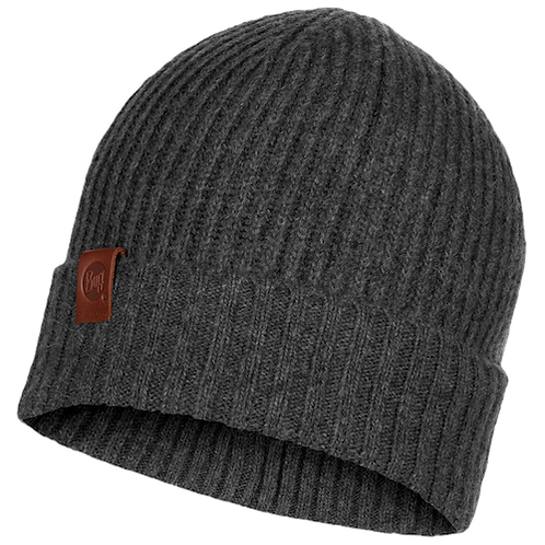 Buff Knitted Hat - Biorn Grey