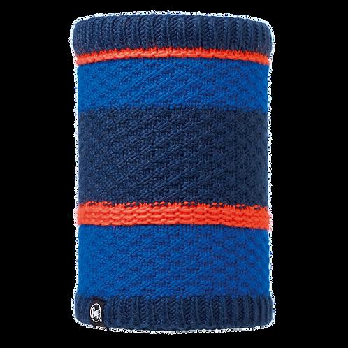 Buff Knitted Neckwarmer - Fizz Blue Skydiver
