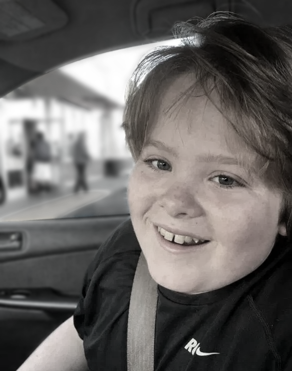 A boy with autism who died from restraint at school.