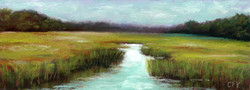 Summer Marsh Study (Sold)