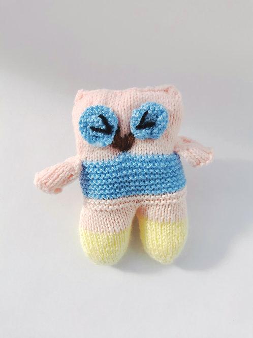 Pink Owl (Nanas Knits)