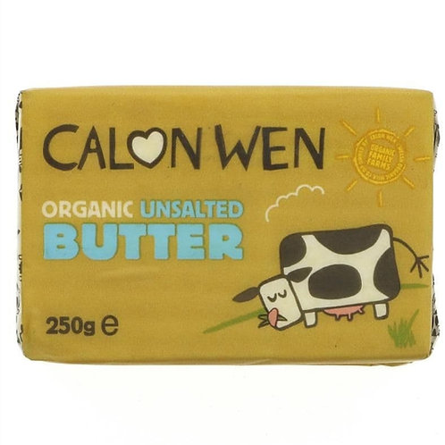 Calon Wen Organic Unsalted Butter