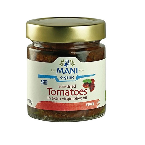 Organic Sundried Tomatoes in Olive Oil 180g