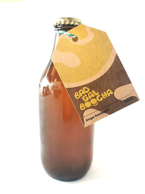 Ginger Kombucha Bad Gal Boocha 330ml