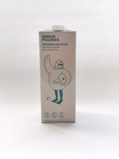 Organic Oat Milk Minor Figures