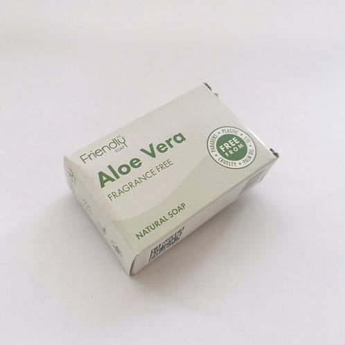 Soap Bar Aloe Vera (Fragrance Free)