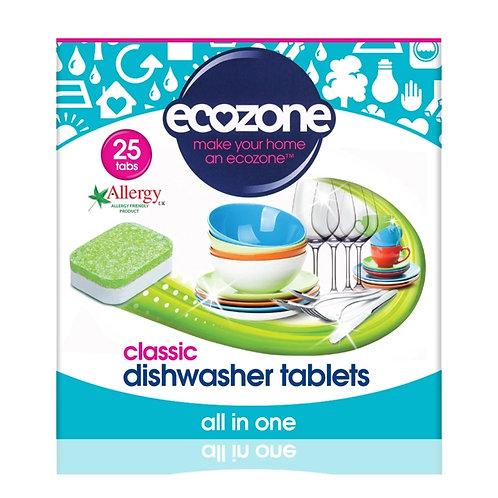 Ecozone Dishwasher Tablets (25)