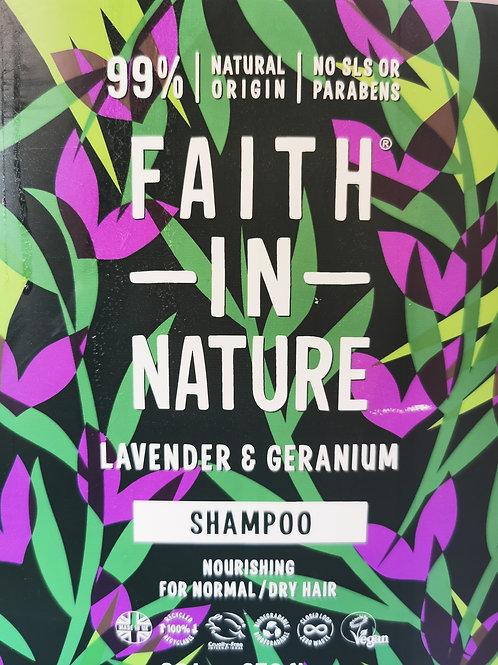 Shampoo Lavender and Geranium