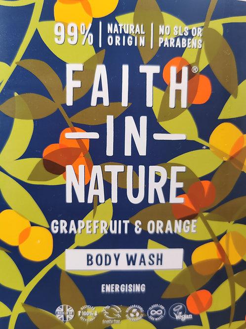 Body Wash Grapefruit & Orange