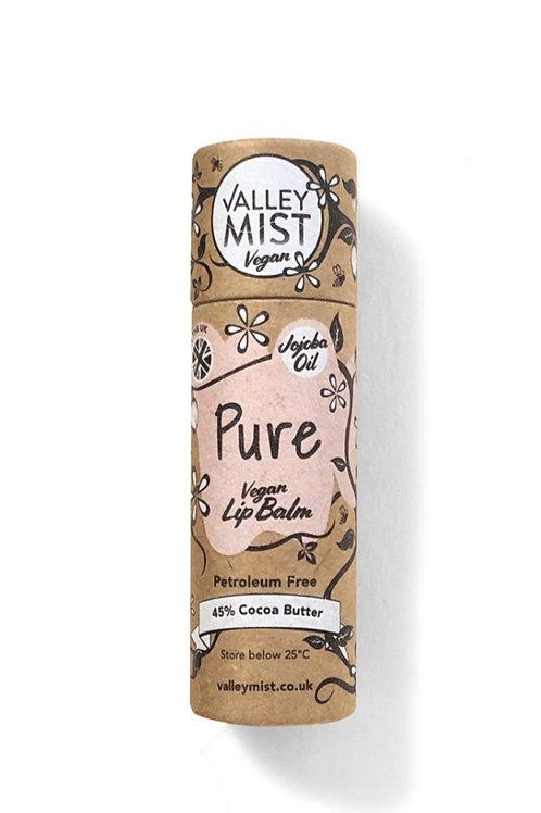 Valley Mist Vegan Pure Lip Balm (10g)