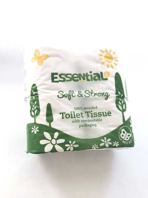 Essential Toilet Roll 4 roll