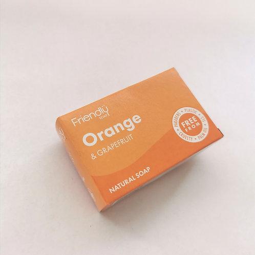 Soap Bar Orange & Grapefruit