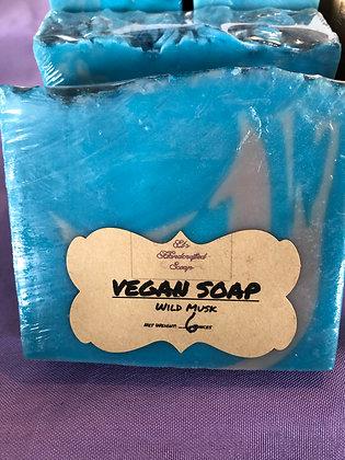 Vegan Soap:  Wild Musk