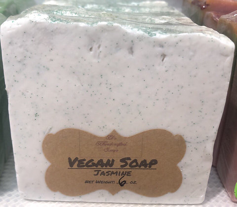 Vegan Soap:  Jasmine