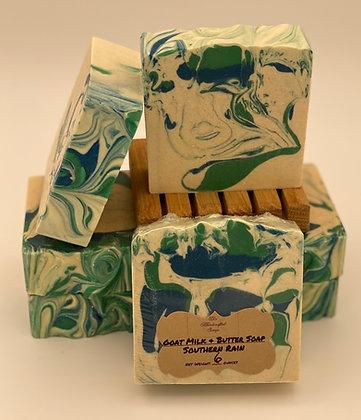 Goat Milk Soap:  Southern Rain