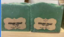 Vegan Soap:  Tea Tree