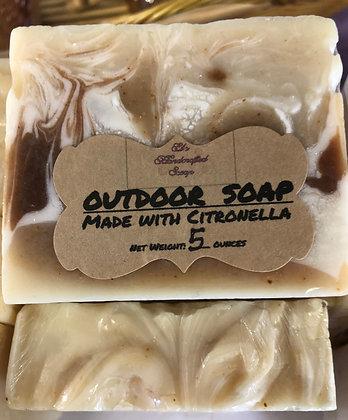 Outdoor Soap:  Citronella