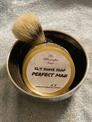 Shave Soap:  Perfect Man