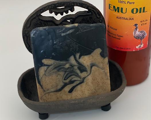 Charcoal Soap: Black Raspberry Vanilla