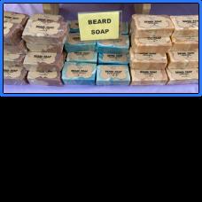 Beard Soap:  Leather & Lace