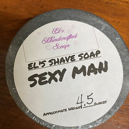 Shave Soap:  Sexy Man