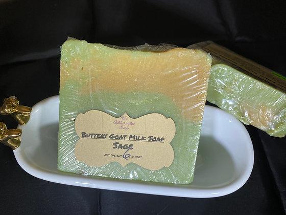 Goat Milk Soap:  Sage