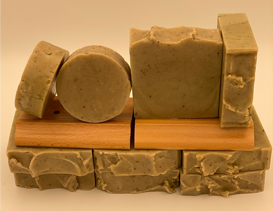 Yogurt:  Brown Cucumber Round Face Soap