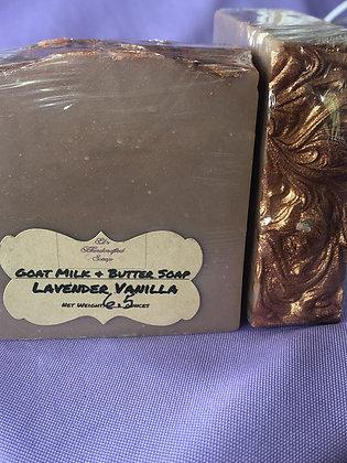 Goat Milk Soap:  Lavender Vanilla