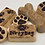 Thumbnail: Oatmeal Soap:  Lemongrass (Dog Bone Shape)