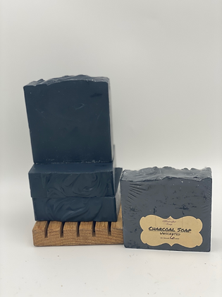 Charcoal Soap:  Unscented