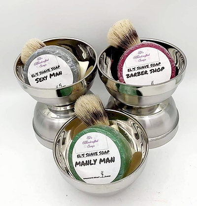 Shave Soap:  Manly Man
