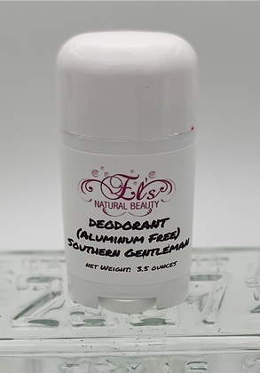 Aluminum Free Deodorant:  Southern Gentleman