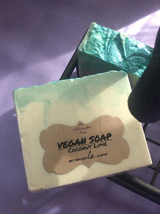 Vegan Soap:  Coconut Lime