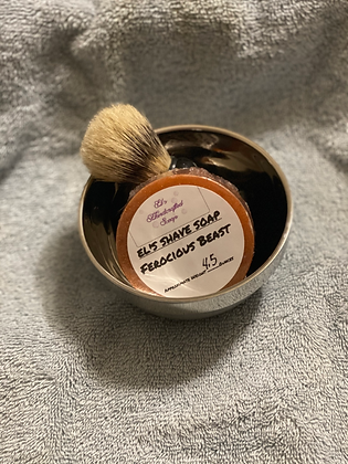 Shave Soap:  Ferocious Beast