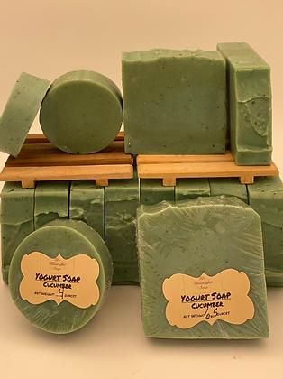 Yogurt:  Green Cucumber Soap