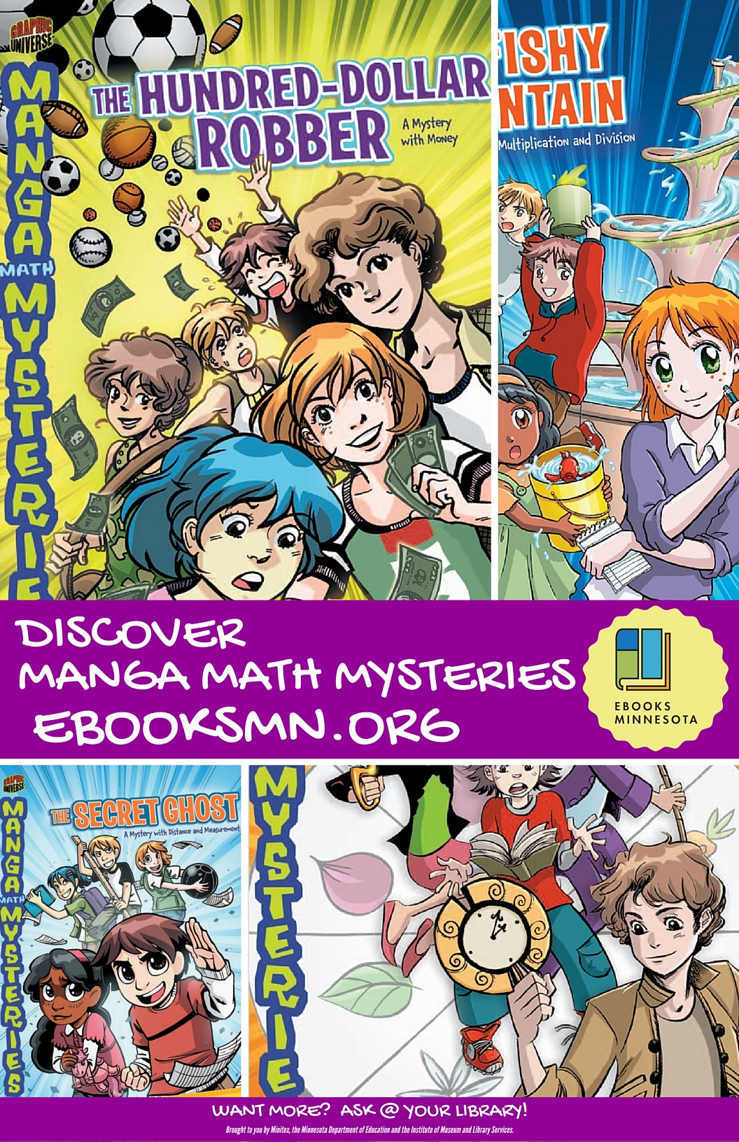 Discover Manga Math Mysteries