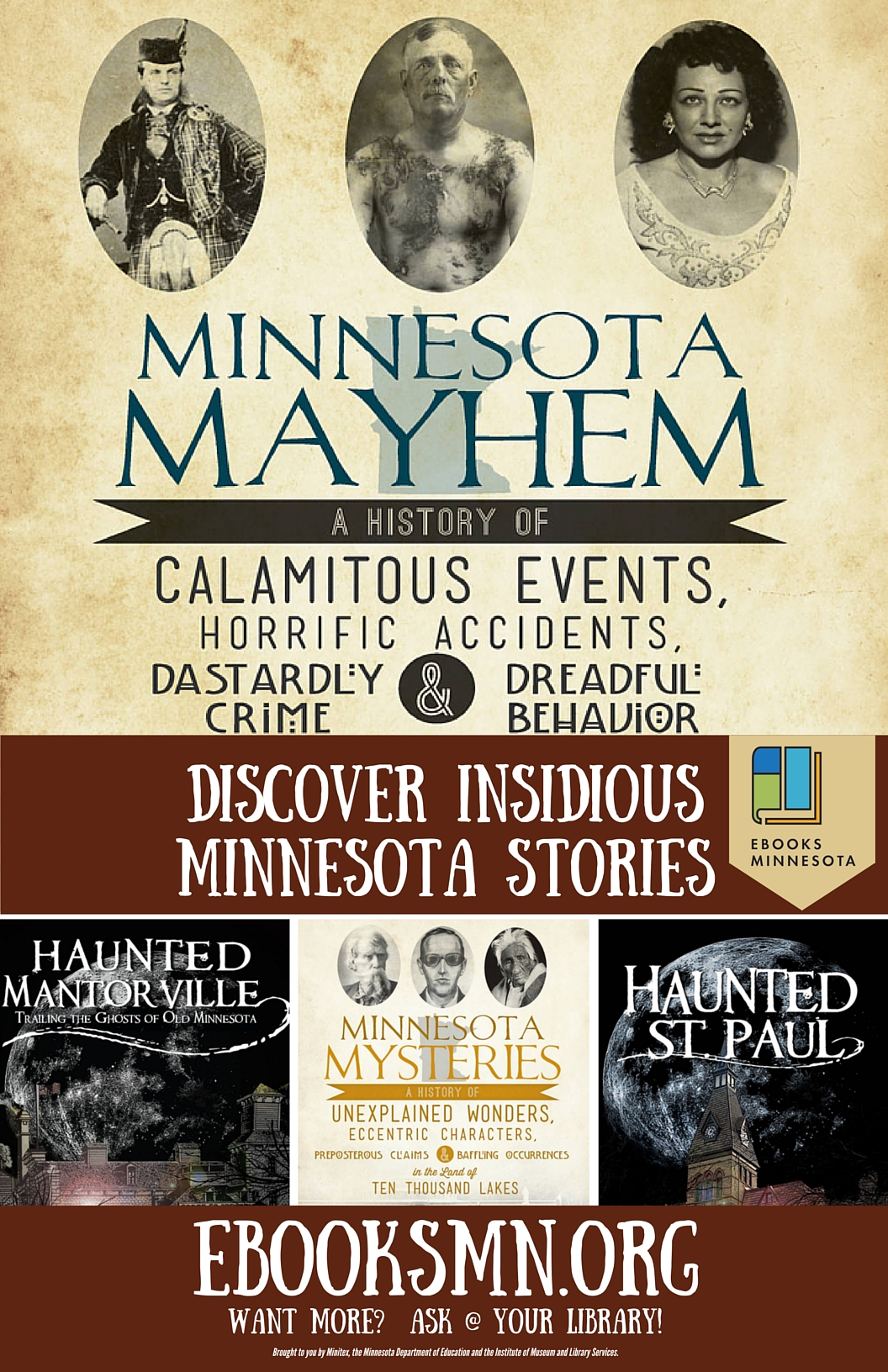 Discover Insidious Minnesota Stories