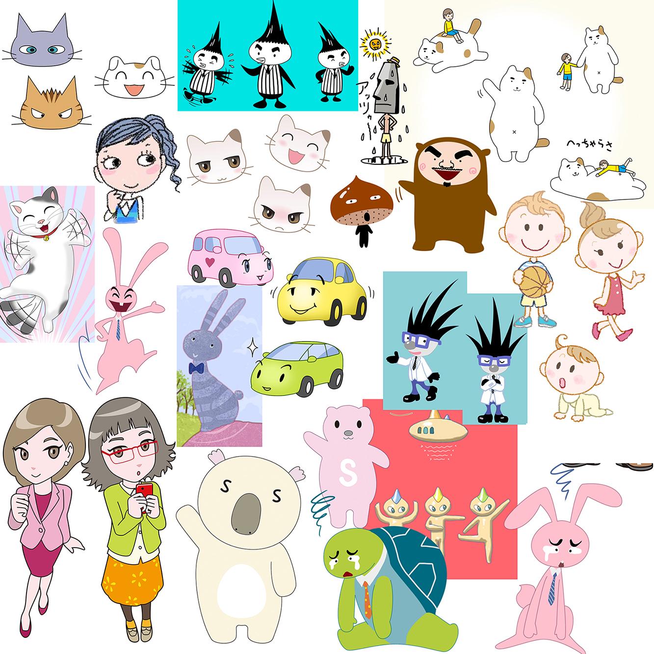 キャラクターデザイン例1