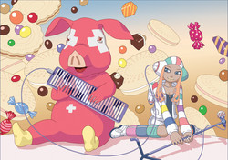 Sweet music planet