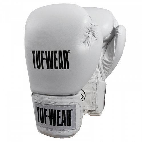 Tuf·Wear Γάντια Πυγμαχίας Λευκό Δερμάτινο