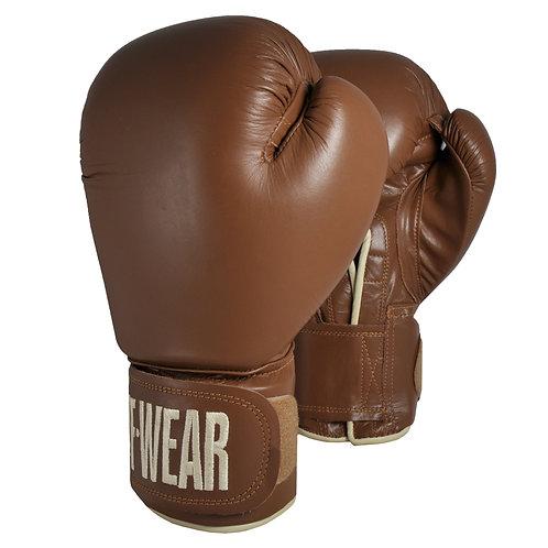 Tuf·Wear Γάντια Πυγμαχίας Κλασικό Καφέ Δερμάτινο