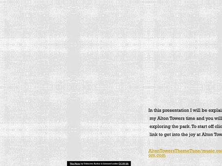Alton Towers Presentation