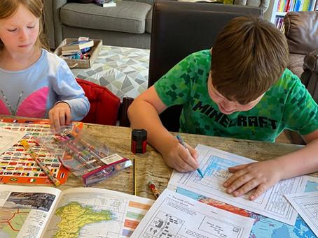 A homeschool summer