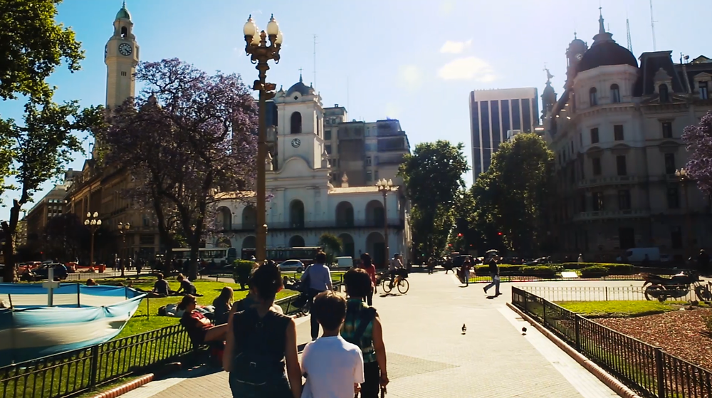 Historical walking tour of Buenos Aires