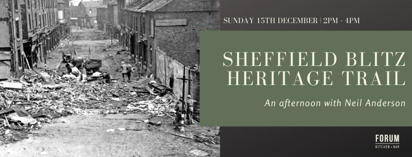 Sheffield blitz heritage trail