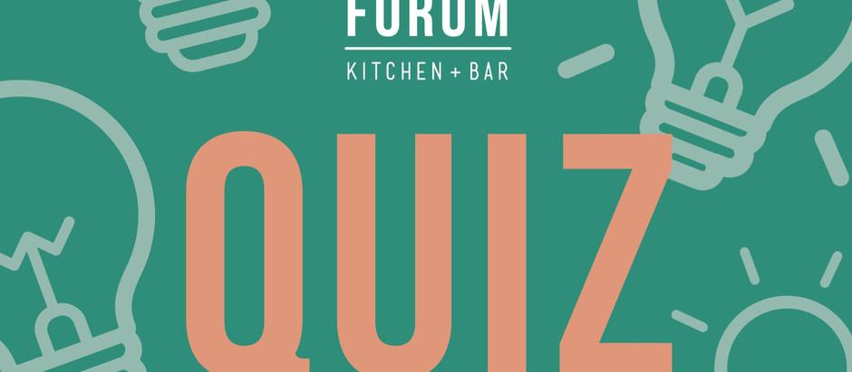 Everyone's loving the Forum quiz!
