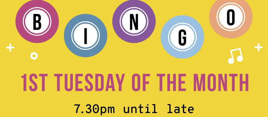 17, Dancing Queen! Join us for Disco Bingo