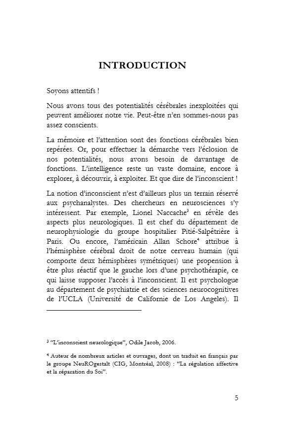 introduction de la révélation cérébrale page 5