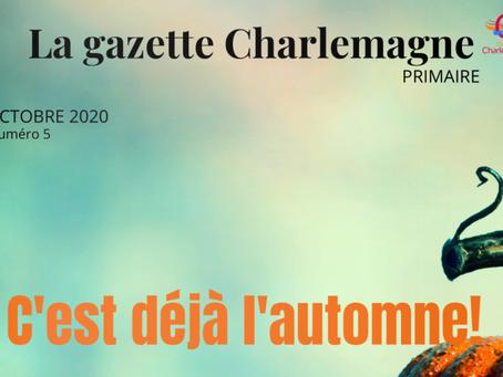LA GAZETTE CHARLEMAGNE – OCTOBRE 2020